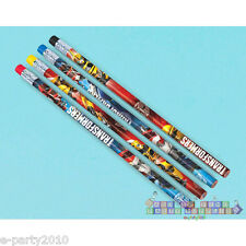 TRANSFORMERS PENCILS (12) ~ Birthday Party Supplies Stationery Bumblebee Optimus