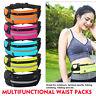 Running Bum Bag Waist Zip Pouch Fanny Pack Jogging Travel Belt Sports