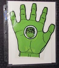 1978 INCREDIBLE HULK (one) Plastic Glove Hand FN+ 6.5