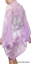 Womens Summer Beach Swimsuit Cover-Up Bolero Lavender NWT FREE SHIPPING