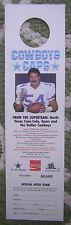 1986 Cowboys Caps - (25) Coca Cola Bottle Cap Signs featuring Randy White