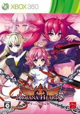 Used Xbox 360 Arcana Heart 3  MICROSOFT JAPAN JAPANESE JAPONAIS IMPORT