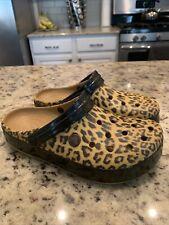Nwot Crocs Seasonal Leopard Cheetah Printed Clog Women Size 8