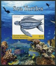 Grenadines Grenada 2019 MNH Sea Turtles Leatherback Turtle 1v SS Reptiles Stamps