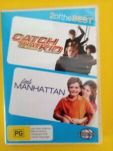 CATCH THAT KID & LITTLE MANHATTAN - 2 MOVIES