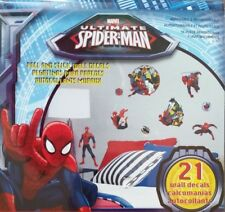 Ultimate Spider-Man Team Hero 21 Peel & Stick Removable Sticker Decals Posters