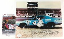 Richard Petty Signed 8x10 Photo JSA COA NASCAR