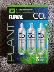 Fluval 3 Pack Pressurized CO2 Cartridge, 95 Grams