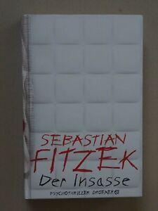 """Buch """"Der Insasse""""  von Sebastian Fitzek"""