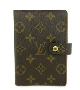 Louis Vuitton Monogram Agenda PM Notebook Cover /82395