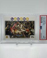 2008-09 Topps Kobe Bryant W/ Lebron James Gold Foil PSA 9 Non Chrome Invest 📈🔥