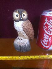 Owl Ornament Collectable Bid Statue Animal Leonardo Collection Porcelain