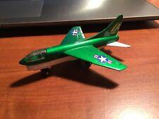 1973 Matchbox Lesney Corsair A7D Airplane, green in colour, great shape