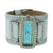 Guess W10534L1 Women's White Leather Stainless Steel Aqua Analog Watch