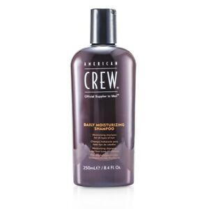 NEW American Crew Men Daily Moisturizing Shampoo (For All Types of Hair) 250ml