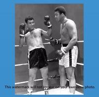 Muhammad Ali + Rocky Marciano PHOTO Boxing Champs SUPER FIGHT Publicity Stunt