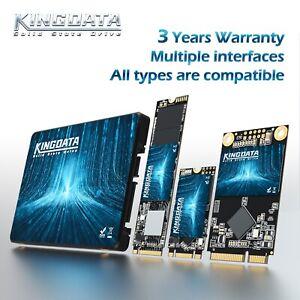 """2.5"""" SSD MSATA M.2 2242 2260 2280 Internal Solid State Drives 128GB 256GB 1T Lot"""