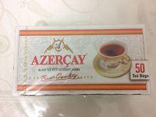 Azerbaijan Tea - Azercay Native Black Tea With Bergamot Aroma- 50 Tea Bags