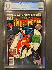 Spider-Woman No.1 CGC 9.8 Marvel Comics 1978 New Origin of Spider-Woman