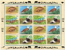 UNO New York # Block  681-84 #  mnh Tierre Animals dieren Fauna  0220