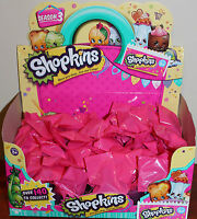 Shopkins Season 3 -10 x Surprise Bags - New from packet sealed in surprise bags!