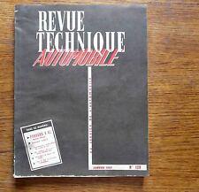 Revue technique automobile étude complète UTILITAIRE PANHARD 4 HL  Janvier 1957