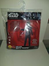 Star Wars Deluxe Death Trooper Costume,Rubies,Child Age 9-10,New,BNIB,Large