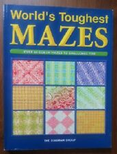 WORLD'S TOUGHEST MAZES - 64 FULL COLOR BRAINBUSTERS - AMAZING PUZZLES