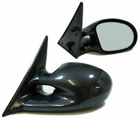 CARBON FINISH M3 STYLE SPORT MIRRORS FOR BMW E46 3 SERIES COUPE & CONVERTIBLE
