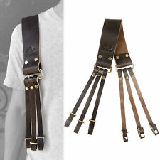 Leather Duck Game Carrier Harness, Padded Duck/Goose Holder Straps Padded