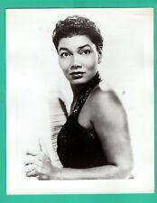 PEARL BAILEY Singer Actress Promo 1960's Photo 8x10