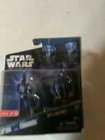 "Star Wars Clone Wars Senate Commando Captain Target Hasbro 3.75"" 2010 MOC"