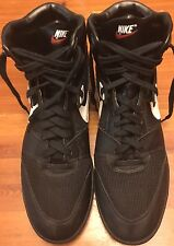 Vintage Nike 1990 High Top Shoes Size 14 1/2 Black Red White 900507FT3