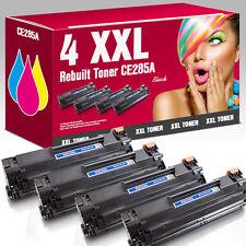 4 XXL Rebuild-Toner für HP CE285A LaserJet Pro M 1212 N