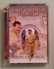 BOBBY VALENTIN ! EN VIVO !  35 ANIVERSARIO VUELVE A LA CARCEL   DVD