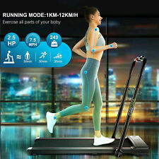 Best Hot!  2.5 HP Electric Treadmill 2-IN-1 Home/Office~ Folding Running Machine
