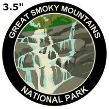 Smoky Mountains National Park Auto Truck Vinyl Decal Souvenir Travel Explore