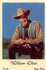 Movie Star William Elliot, cowboy, actor