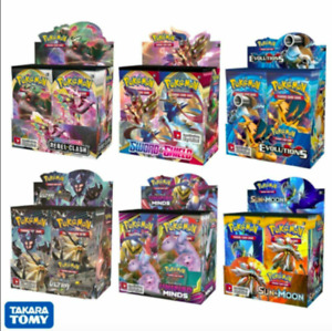324Pcs/Box Pokemon Cards Sword&Shield Sun&Moon XY All Latest Versions 36 Pack