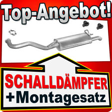 Endschalldämpfer RENAULT R19 1.9 TD 1.7 1.8 Schrägheck Cabrio 88-96 Auspuff RRE