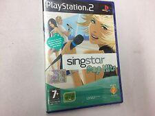 SINGSTAR POP HITS  PS2 PLAYSTATION 2 PAL NUOVO SIGILLATO