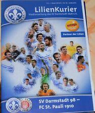 2014/15 2.Bundesliga SV Darmstadt 98 - FC St.Pauli