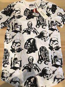 Star Wars Disney Kenji Mens Shirt Bnwt Brand New Size S Small