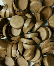 """50 NEW FIREWORKS KRAFT PYRO PAPER PLUGS END CAPS FOR TUBES  3/4"""""""