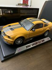 Die-Cast 1:18 2007 Shelby GT 500 With Authentic Carroll Shelby Signature.