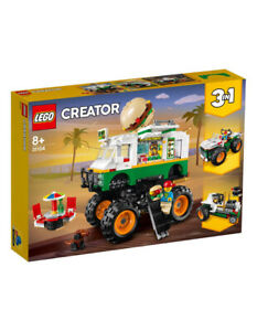 LEGO Creator 3in1 Monster Burger Truck  31104