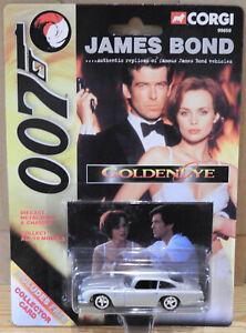 Corgi 99659 James Bond Aston Martin DB5 from Goldeneye + Collector Card BNIB