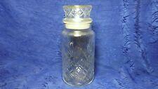 Planters Mr Peanut Jar With Sealed Lid 1983