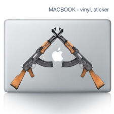 Guns macbook autocollant | ordinateur portable autocollants | vert decal-vinyl counter strike
