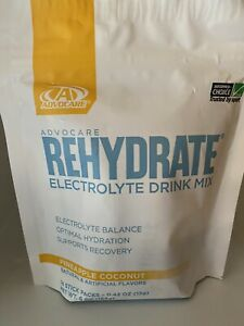 Advocare Rehydrate Electrolyte Drink Mix Pineapple Coconut 14 Sticks Brand New